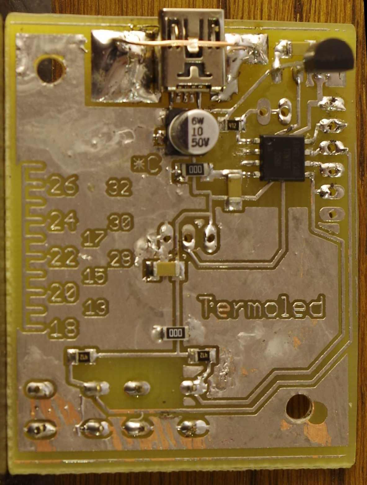 Termometr PCB